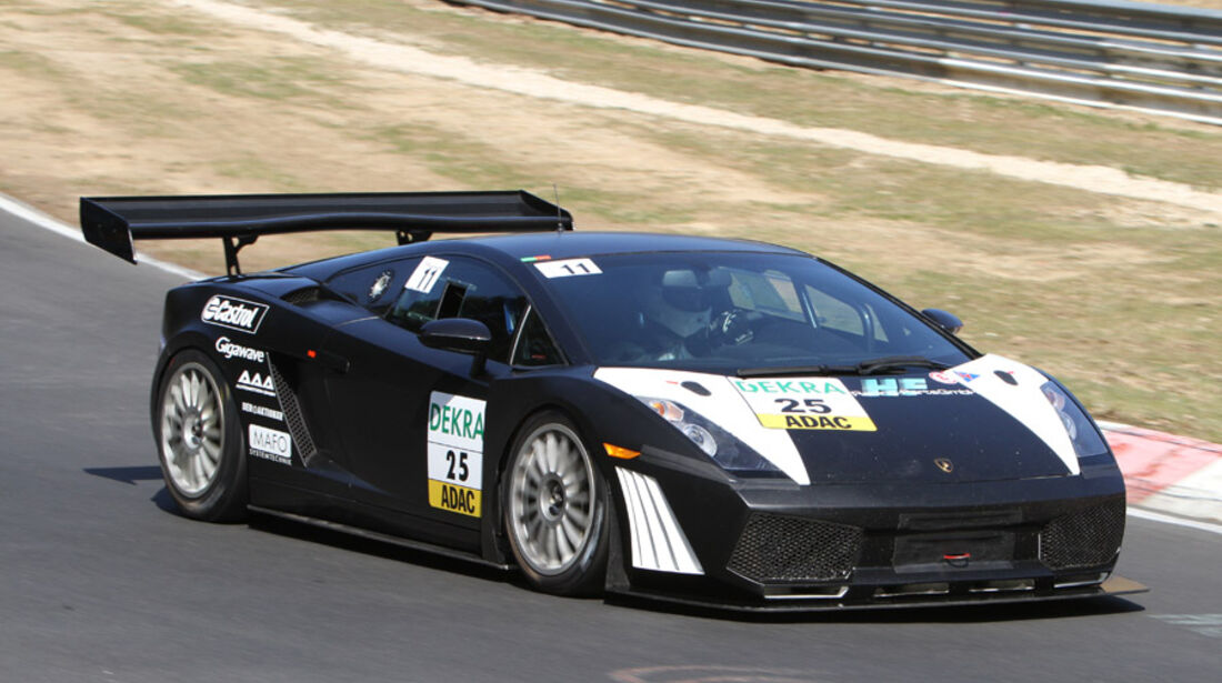 Lamborghini Gallardo Super Trofeo, Rennwagen, Nürburgring