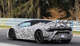 Lamborghini Huracan Spyder Performante Erlkönig