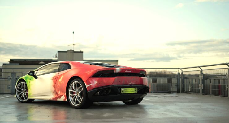 Lamborghini Huracan by Print Tech