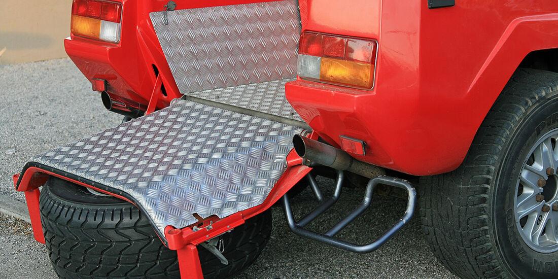 Lamborghini LM 002 Ladefläche