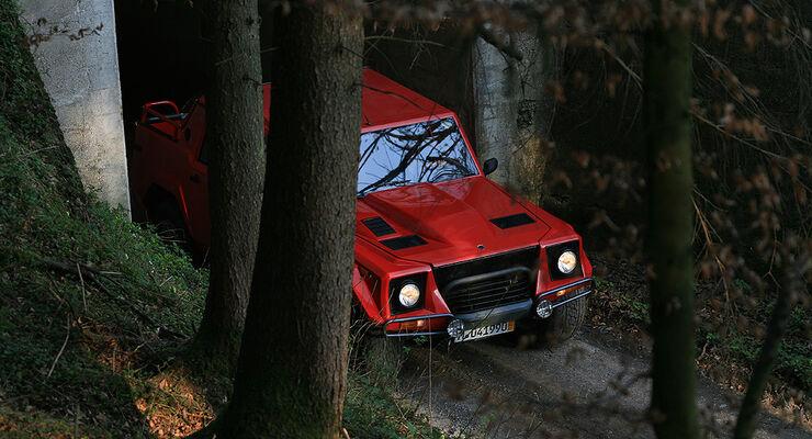 Auto Der Woche Lamborghini Lm 002 Herrlich Häßlicher Brocken