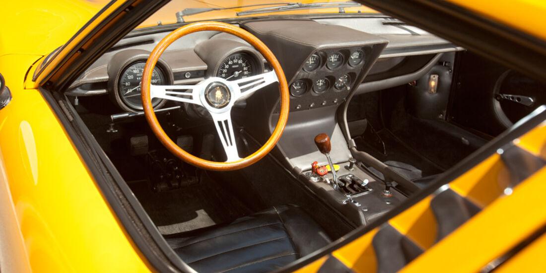 Lamborghini Miura P 400, Innenraum