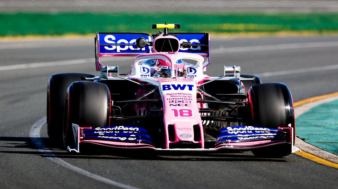 Lance Stroll - Formel 1 - GP Australien 2019