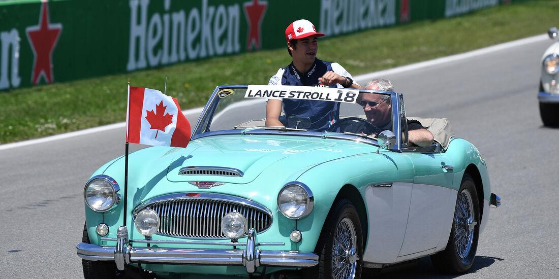 Lance Stroll - Formel 1 - GP Kanada 2018