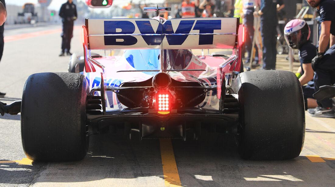 Lance Stroll - Racing Point - F1-Test - 26. Februar 2019
