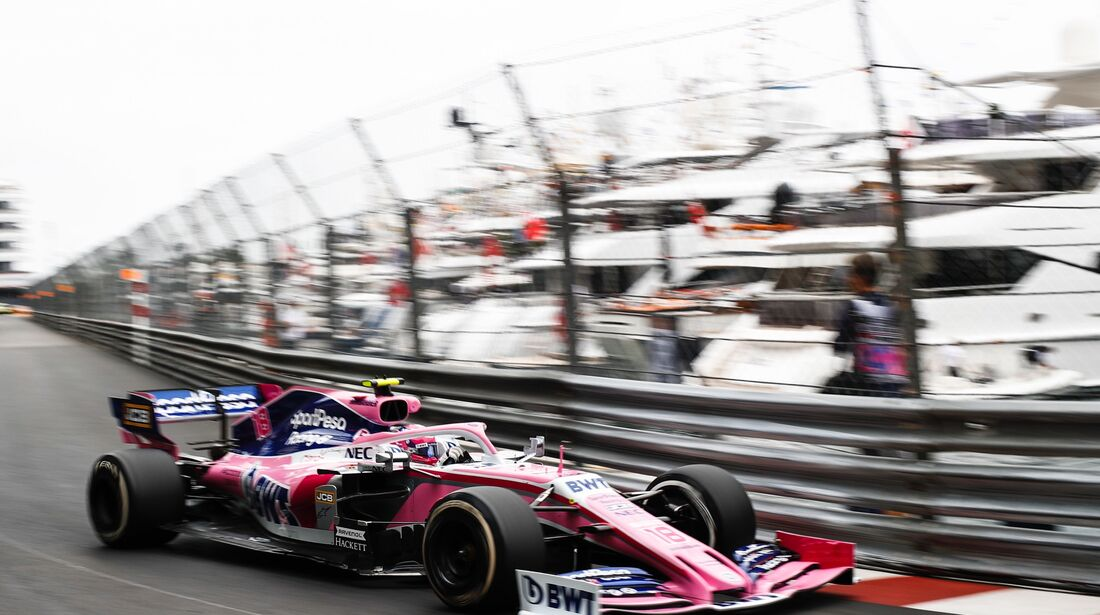 Lance Stroll - Racing Point - Formel 1 - GP Monaco - 23. Mai 2019
