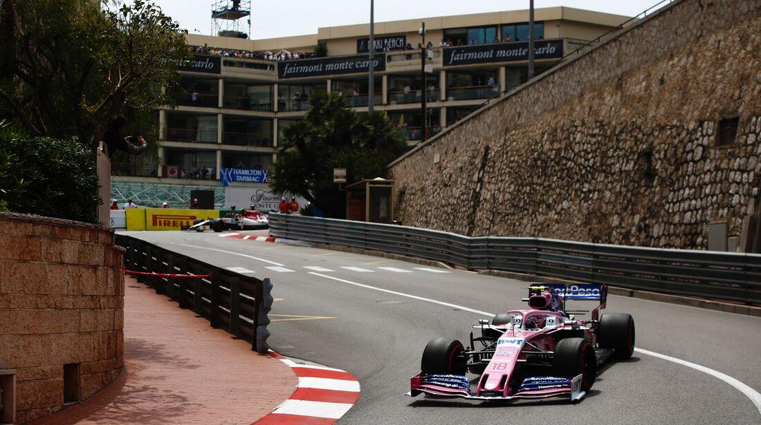 Lance Stroll - Racing Point - Formel 1 - GP Monaco - 25. Mai 2019