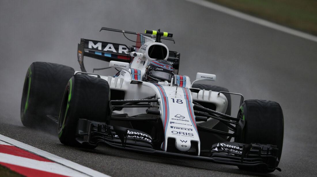 Lance Stroll - Williams - Formel 1 - GP China 2017 - Shanghai - 7.4.2017