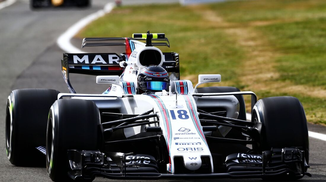 Lance Stroll - Williams - Formel 1 - GP England - 14. Juli 2017
