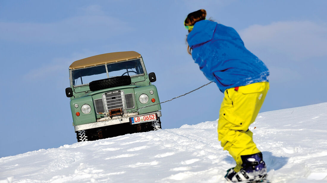Land Rover 109 Serie 3, Frontansicht, Anna Matuschek