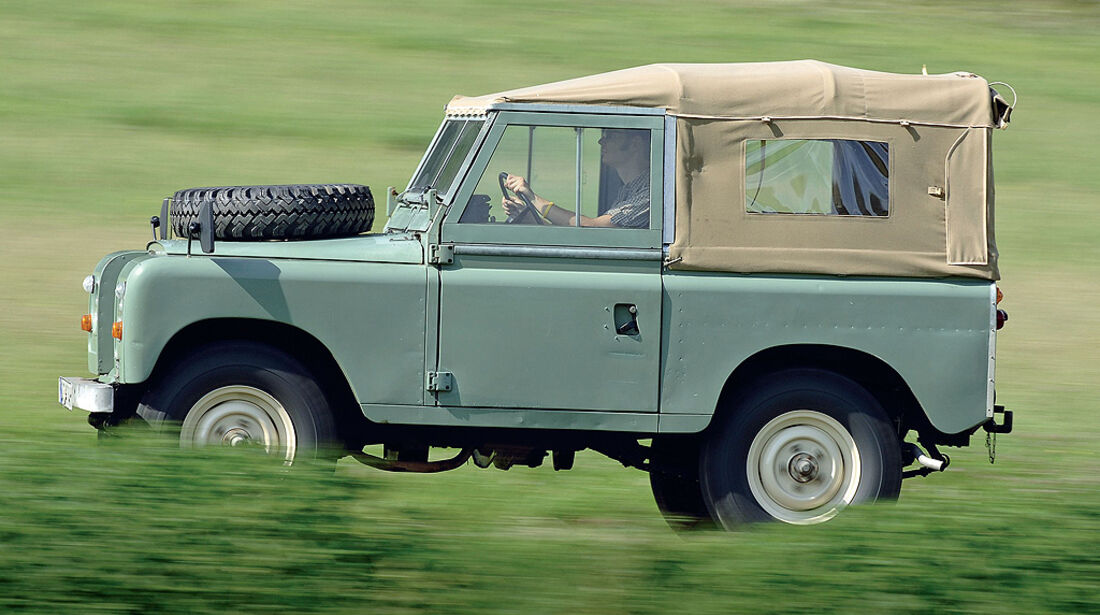Land Rover 88 Serie III Softtop (71-85)