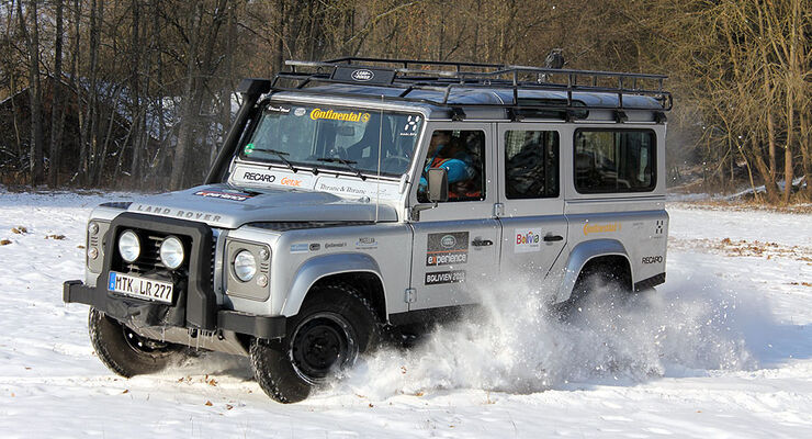 Land Rover Defender 2.2 TD4 2012 Test