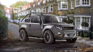 Land Rover Defender 2017 Design Concept