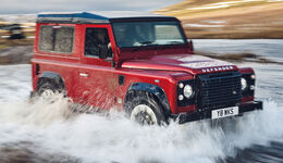 Land Rover Defender Works V8 – 70th Edition 2018