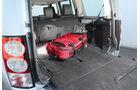 Land Rover Discovery SDV 6, Kofferraum