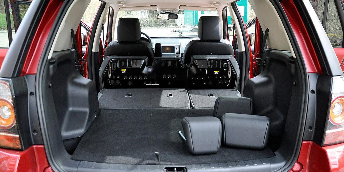 Land Rover Freelander 2.2 TD4, Kofferraum