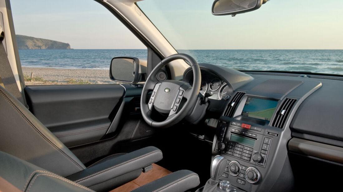 Land Rover Freelander 2, Innenraum, Cockpit