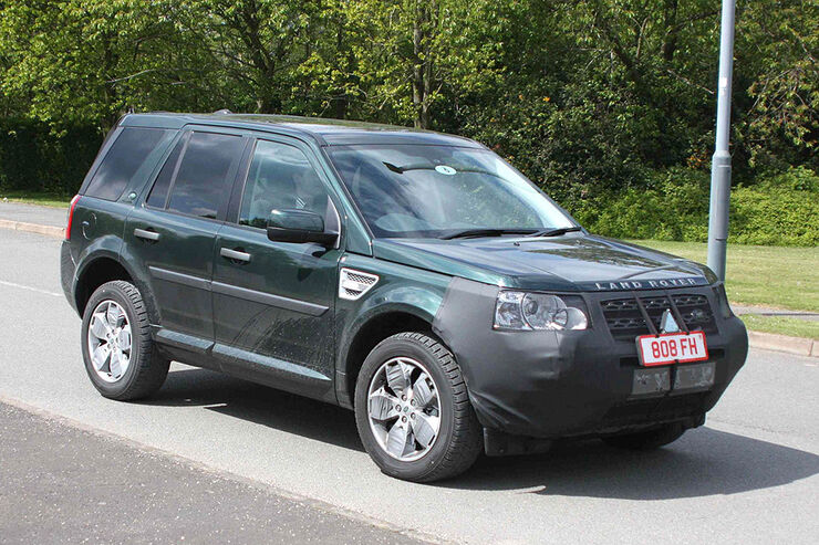land rover freelander erlk nig erwischt kleines facelift. Black Bedroom Furniture Sets. Home Design Ideas