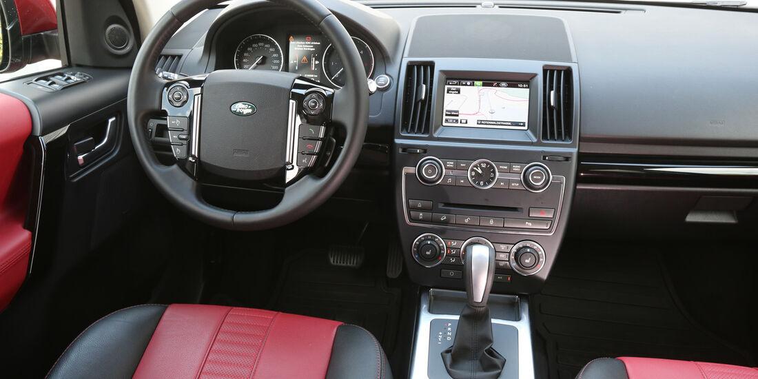 Land Rover Freelander SD4, Cockpit