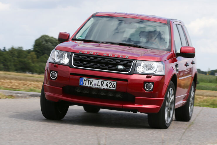 land rover freelander auto motor und sport. Black Bedroom Furniture Sets. Home Design Ideas