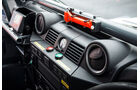 Land Rover Rallye-Defender, Armaturenbrett