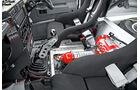 Land Rover Rallye-Defender, Feuerlöscher