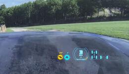 Land Rover transparente Motorhaube