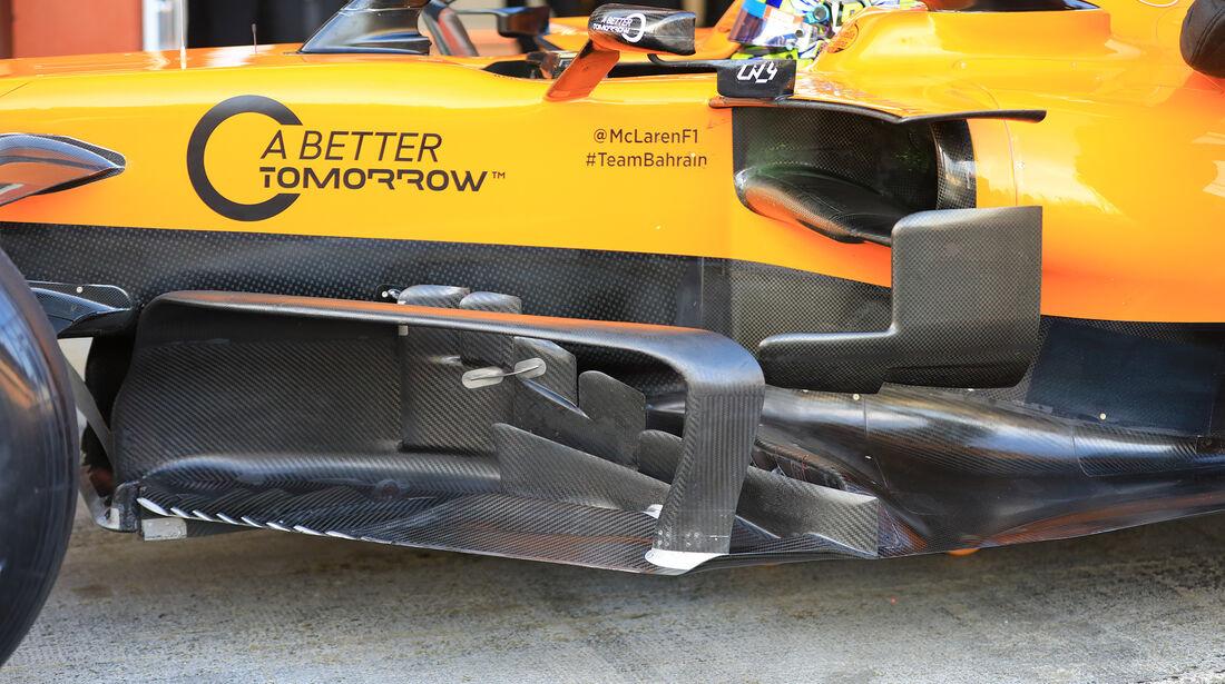 Lando Norris - McLaren - Barcelona - F1-Test - 26. Februar 2019