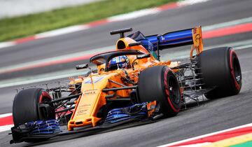 Lando Norris - McLaren - F1-Test - GP Spanien - Barcelona - Tag 2 - 16. Mai 2018