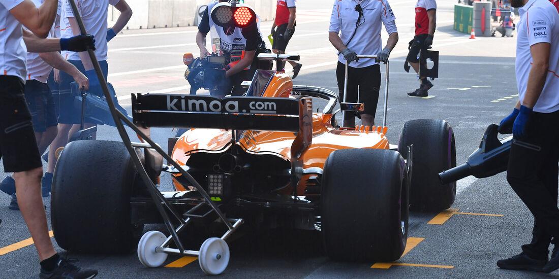 Lando Norris - McLaren  - Formel 1 - GP Mexiko - 26. Oktober 2018