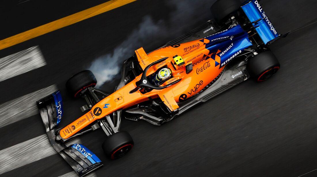 Lando Norris - McLaren - Formel 1 - GP Monaco - 23. Mai 2019