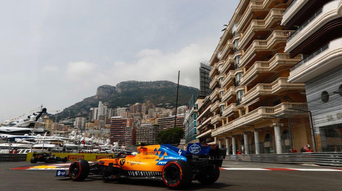 Lando Norris - McLaren - Formel 1 - GP Monaco - 25. Mai 2019
