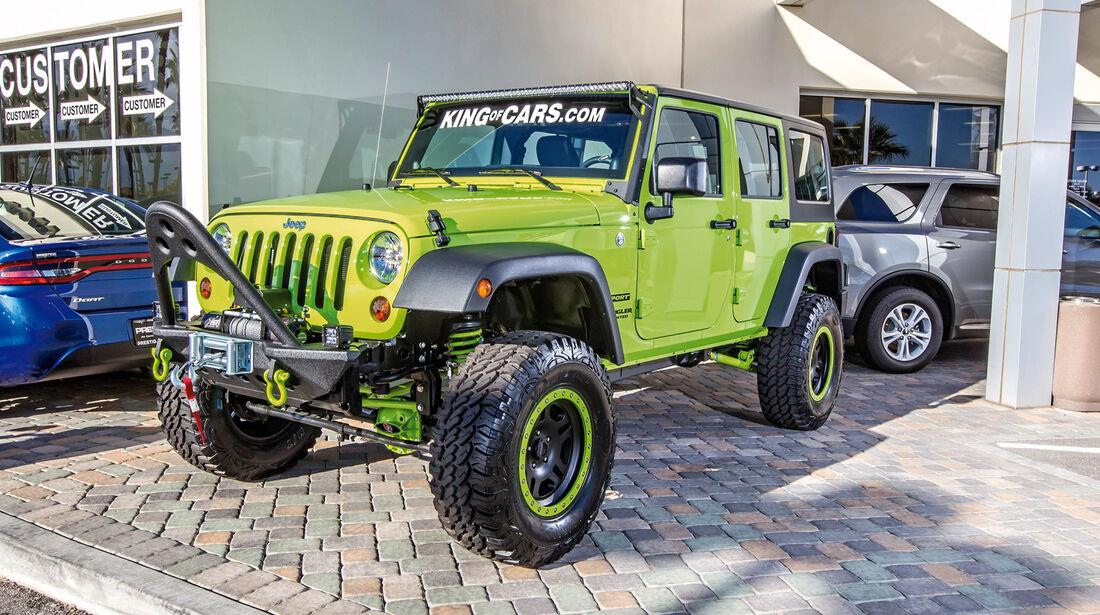 Las Vegas, Jeep