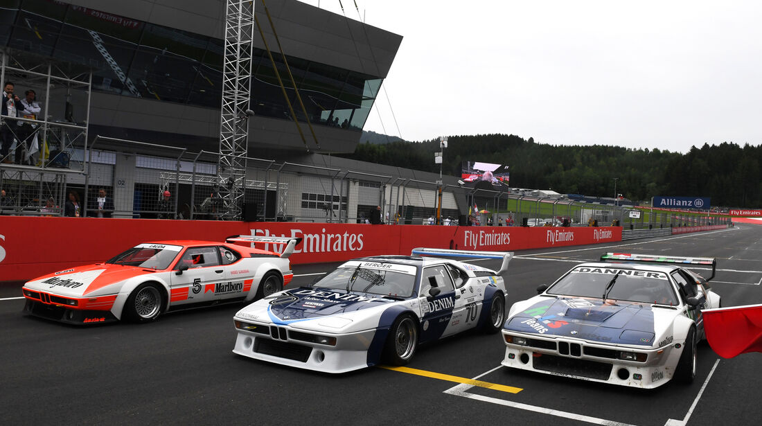 Lauda, Berger & Danner - BMW M1 Procar - Spielberg - 2016