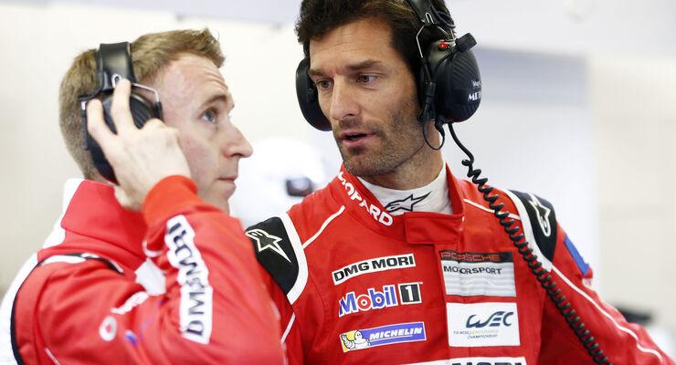 Le Mans 2015 - Mark Webber - Porsche