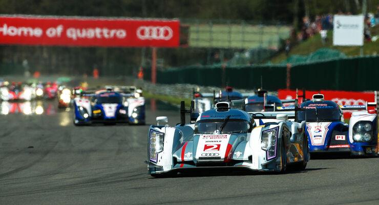 Le Mans, LMP1-Klasse, Audi R18