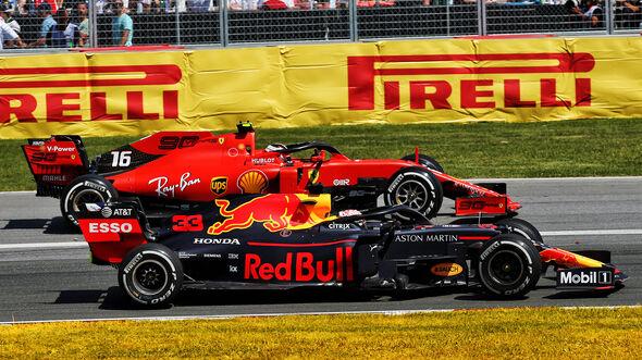 Leclerc & Verstappen - GP Kanada 2019