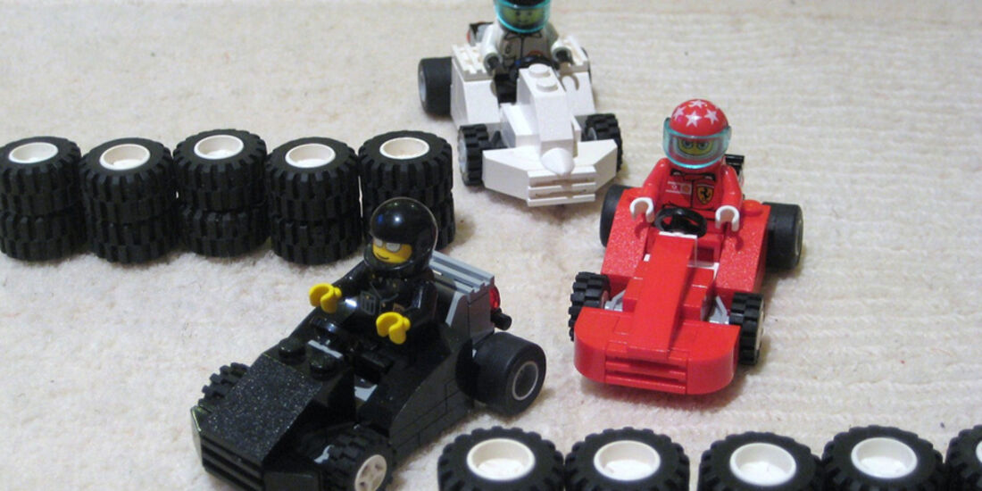 Lego Rennautos - Karts
