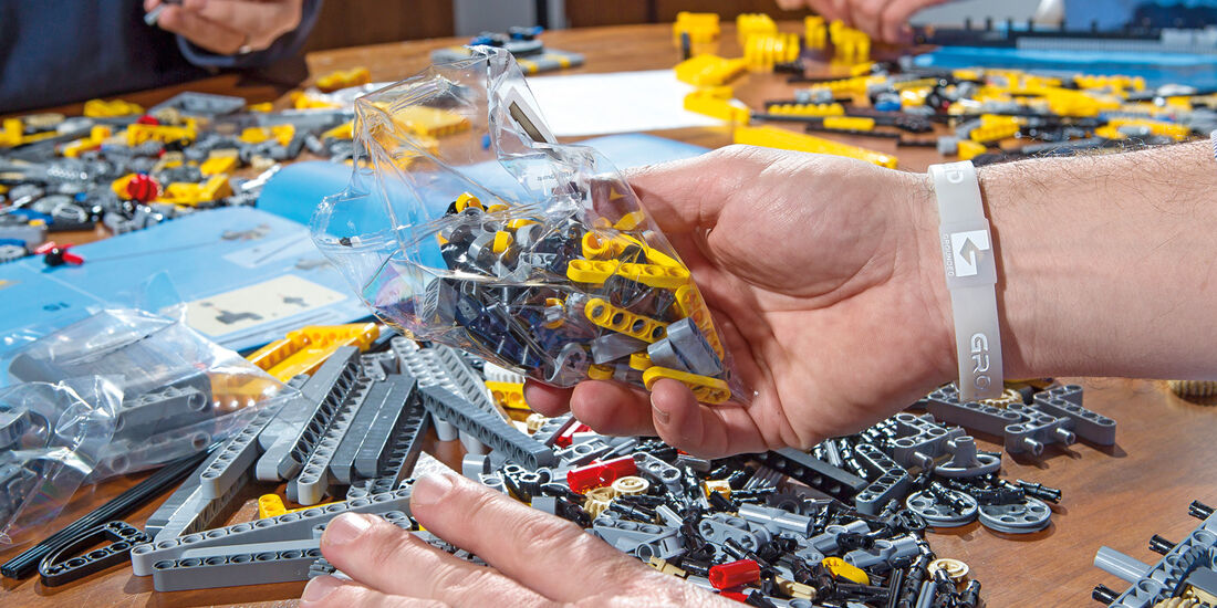 Lego-Technik, Auspacken
