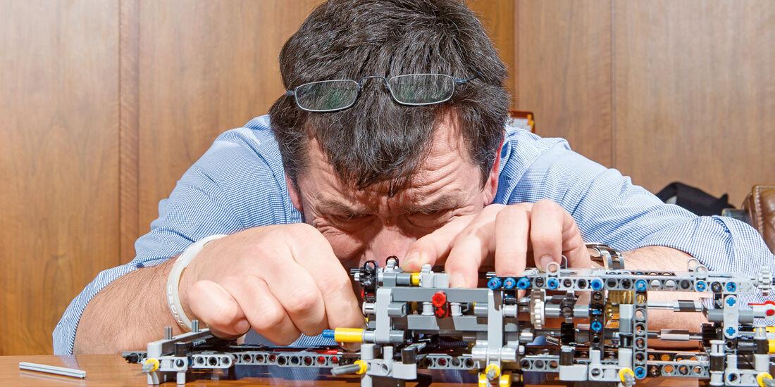Lego-Technik, Fummelei
