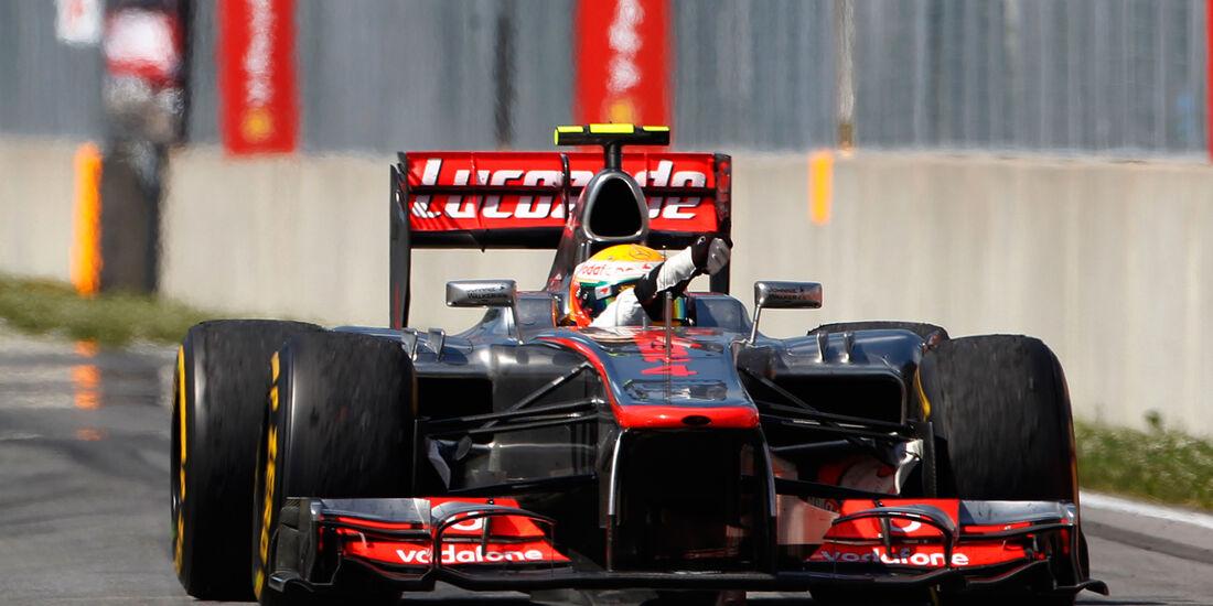 Lewis Hamilton Formel 1 2012