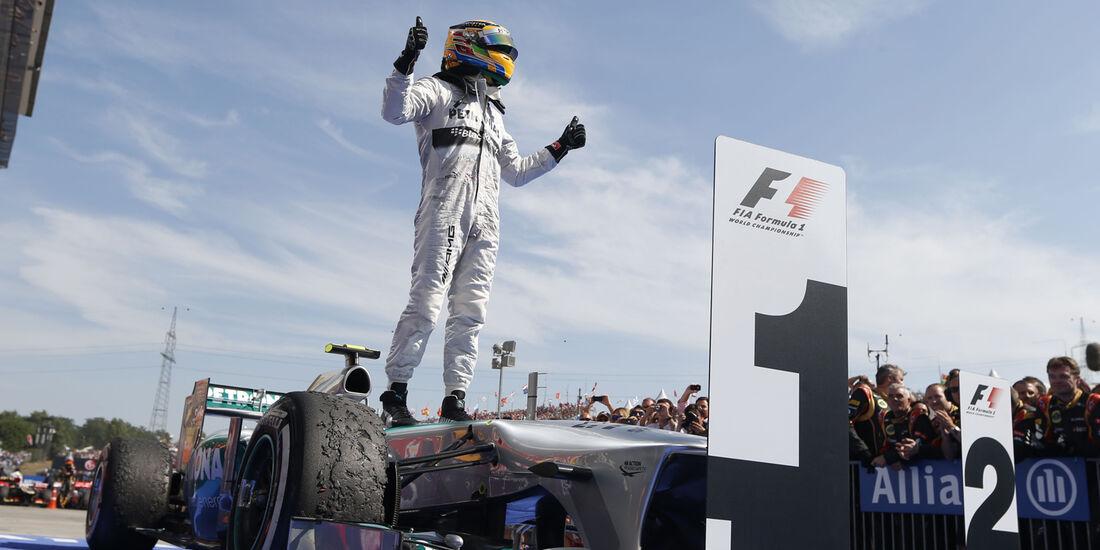 Lewis Hamilton - Formel 1 - 2013