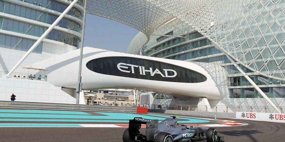 Lewis Hamilton  - Formel 1 - GP Abu Dhabi - 01. November 2013