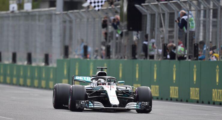 Lewis Hamilton - Formel 1 - GP Aserbaidschan - 29. April 2018
