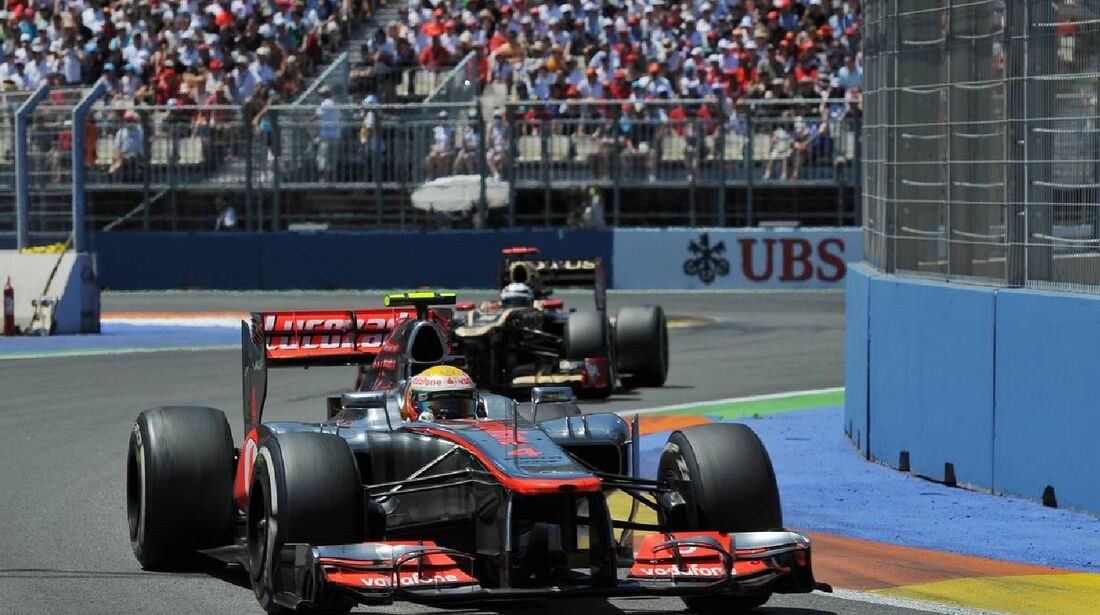 Lewis Hamilton  - Formel 1 - GP Europa - 24. Juni 2012