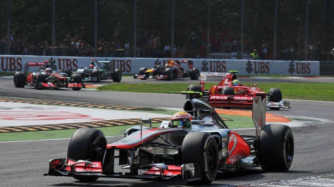 Lewis Hamilton  - Formel 1 - GP Italien - 09. September 2012