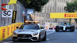 Lewis Hamilton - GP Aserbaidschan 2017 - Baku - Rennen