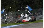 Lewis Hamilton GP Belgien Crashs 2011