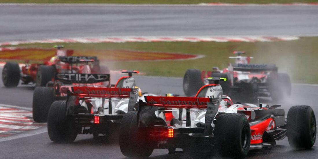 Lewis Hamilton GP Brasilien 2008