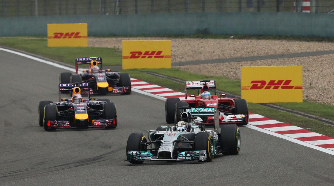 Lewis Hamilton - GP China 2014